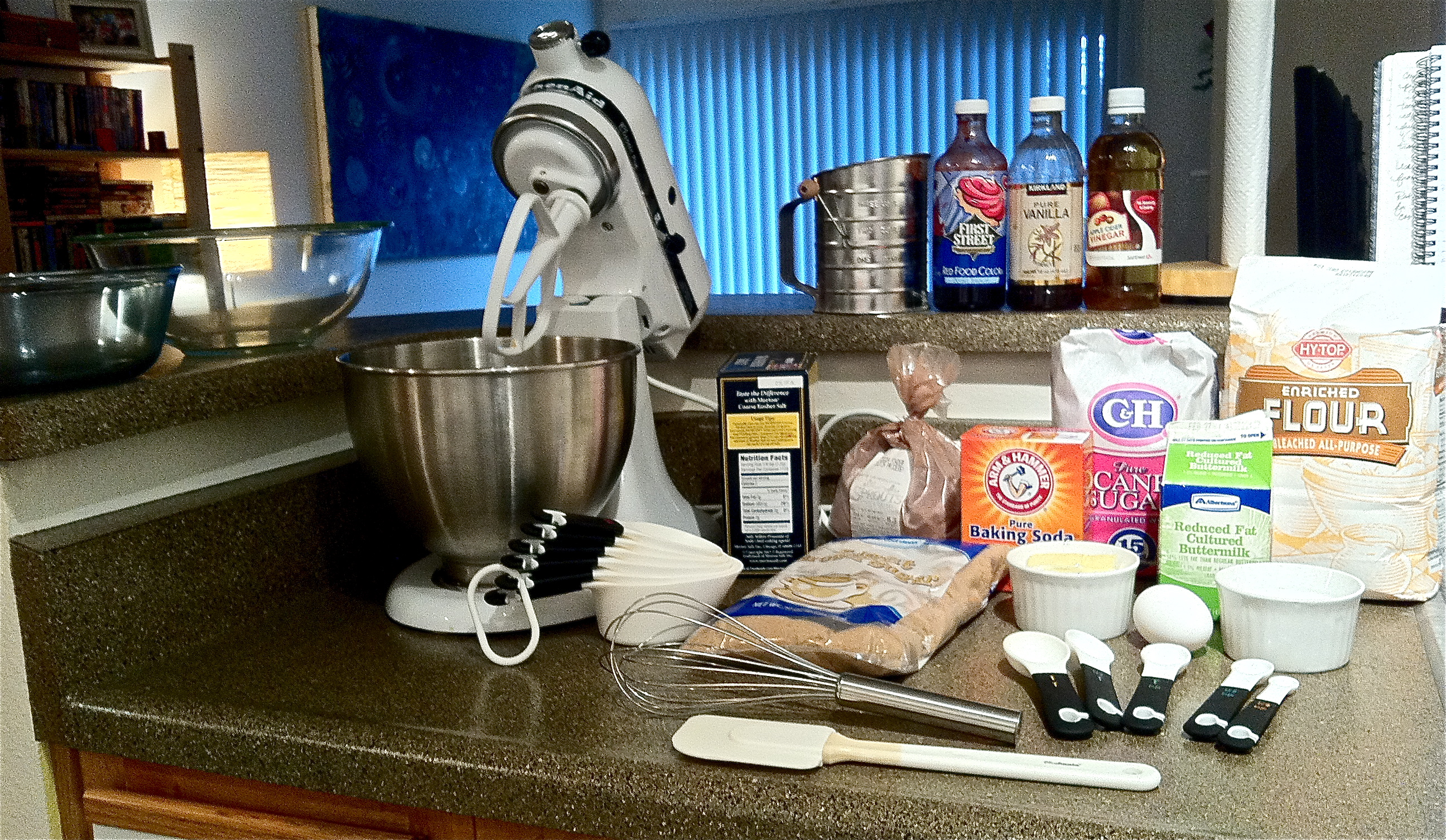 making cupcakes from scratch