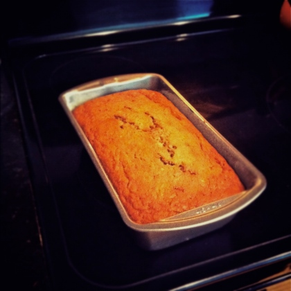 Cjackplay: Zucchini Bread Fresh From the Oven